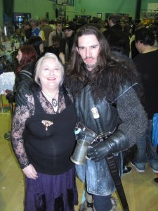 The nearest I will ever get to Jon Snow from Game of Thrones !